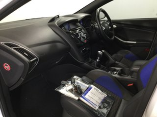 2013 Ford Focus LW MkII ST White 6 Speed Manual Hatchback