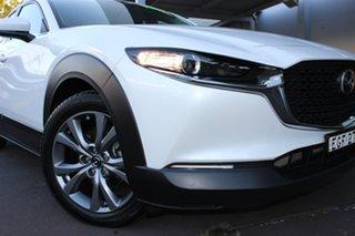 2019 Mazda CX-30 DM2W7A G20 SKYACTIV-Drive Evolve White 6 Speed Sports Automatic Wagon.