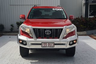 2016 Toyota Landcruiser Prado GDJ150R GXL Red 6 Speed Sports Automatic Wagon.