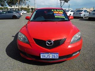 2009 Mazda 3 BL10F1 Maxx Red 6 Speed Manual Hatchback.