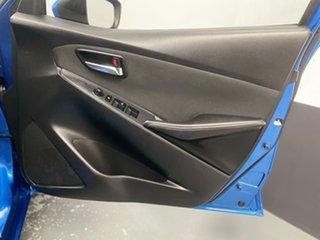2015 Mazda 2 DJ2HA6 Genki SKYACTIV-MT Dynamic Blue 6 Speed Manual Hatchback