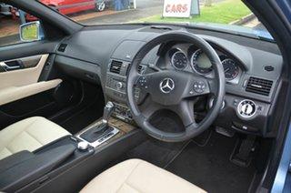 2010 Mercedes-Benz C250 W204 MY10 CGI Avantgarde Blue 5 Speed Auto Tipshift Sedan