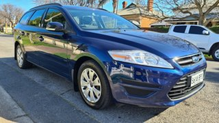 2013 Ford Mondeo MC LX TDCi Blue 6 Speed Direct Shift Wagon.