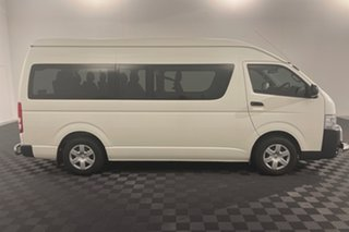 2018 Toyota HiAce KDH223R Commuter High Roof Super LWB White 4 speed Automatic Bus