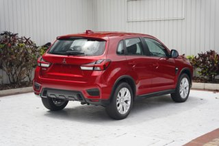 2021 Mitsubishi ASX XD MY21 ES 2WD Brilliant Red 1 Speed Constant Variable Wagon