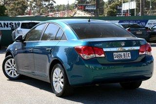 2012 Holden Cruze JH Series II MY12 CDX Green 6 Speed Sports Automatic Sedan.