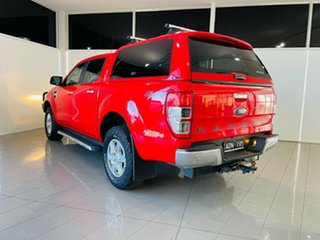 2015 Ford Ranger PX XLT Double Cab Red 6 Speed Sports Automatic Utility.