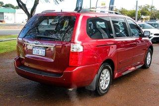 2012 Kia Grand Carnival VQ MY12 SI Red 6 Speed Sports Automatic Wagon.