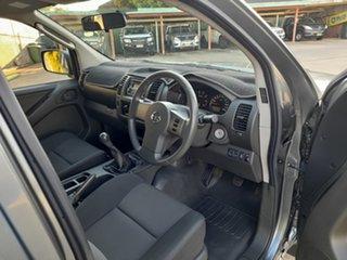 2012 Nissan Navara D40 S7 MY12 RX 4x2 Grey 6 Speed Manual Utility.