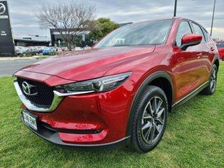 2018 Mazda CX-5 KF4WLA GT SKYACTIV-Drive i-ACTIV AWD Red 6 Speed Sports Automatic Wagon