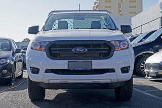 2020 Ford Ranger PX MkIII 2021.25MY XL White 6 Speed Sports Automatic Single Cab Chassis.