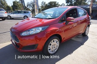 2014 Ford Fiesta WZ MY15 Ambiente PwrShift Candy Red 6 Speed Sports Automatic Dual Clutch Hatchback.