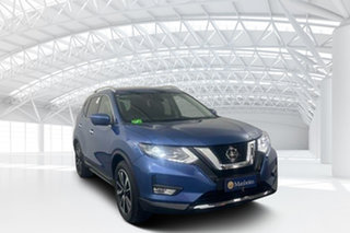 2020 Nissan X-Trail T32 MY21 Ti X-tronic 4WD Blue 7 Speed Constant Variable Wagon.