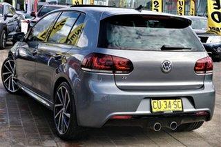 2011 Volkswagen Golf VI MY11 R DSG 4MOTION Grey 6 Speed Sports Automatic Dual Clutch Hatchback