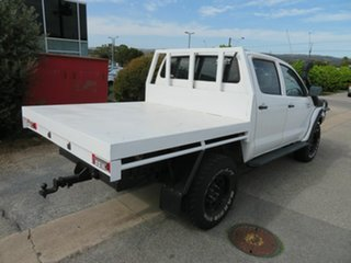 2005 Toyota Hilux KUN26R SR (4x4) White 5 Speed Manual Dual Cab Chassis