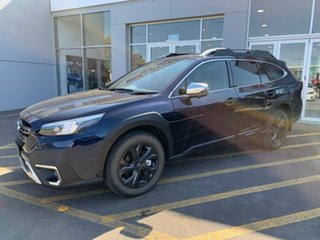 2021 Subaru Outback B7A MY21 AWD Touring CVT Blue 8 Speed Constant Variable Wagon.
