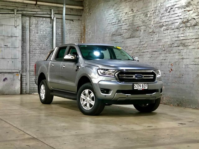 Used Ford Ranger PX MkIII 2019.00MY XLT Mile End South, 2018 Ford Ranger PX MkIII 2019.00MY XLT Silver 10 Speed Sports Automatic Utility