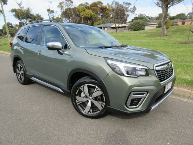 Demo Subaru Forester S5 MY21 2.5i-S CVT AWD Reynella, 2021 Subaru Forester S5 MY21 2.5i-S CVT AWD Jasper Green Metallic 7 Speed Constant Variable Wagon
