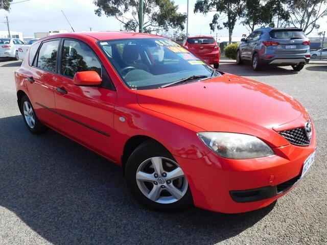Used Mazda 3 BL10F1 Maxx Wangara, 2009 Mazda 3 BL10F1 Maxx Red 6 Speed Manual Hatchback
