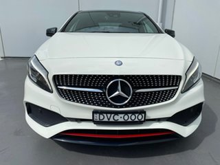 2017 Mercedes-Benz A-Class W176 808MY A250 D-CT 4MATIC Sport White 7 Speed.