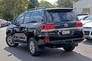 2016 Toyota Landcruiser VDJ200R Sahara Black 6 Speed Sports Automatic Wagon.