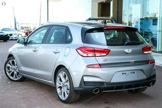 2021 Hyundai i30 PD.V4 MY21 N Line Premium Silver 6 Speed Manual Hatchback