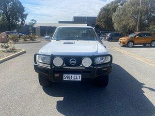 2007 Nissan Patrol GU 5 MY07 ST White 4 Speed Automatic Wagon.