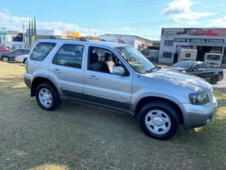 2006 Ford Escape ZB XLS Silver 4 Speed Automatic SUV