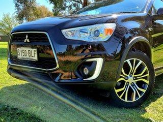 2016 Mitsubishi ASX XB MY15.5 XLS 2WD Black 6 Speed Constant Variable Wagon