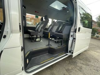 2019 Toyota HiAce GDH322R Commuter High Roof Super LWB French Vanilla 6 Speed Automatic Bus