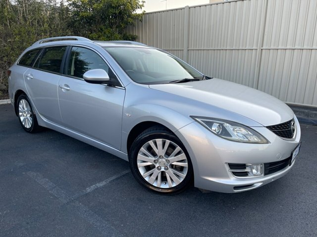 Used Mazda 6 GH1051 MY09 Classic Devonport, 2009 Mazda 6 GH1051 MY09 Classic Silver 5 Speed Sports Automatic Wagon