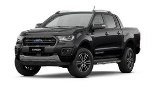 2021 Ford Ranger PX MkIII 2021.75MY Wildtrak Shadow Black 6 Speed Sports Automatic