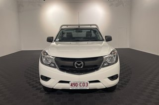 2017 Mazda BT-50 UR0YE1 XT 4x2 Hi-Rider White 6 speed Automatic Cab Chassis.