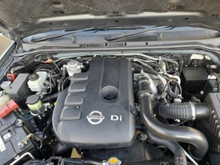 2012 Nissan Navara D40 S7 MY12 RX 4x2 Grey 6 Speed Manual Utility