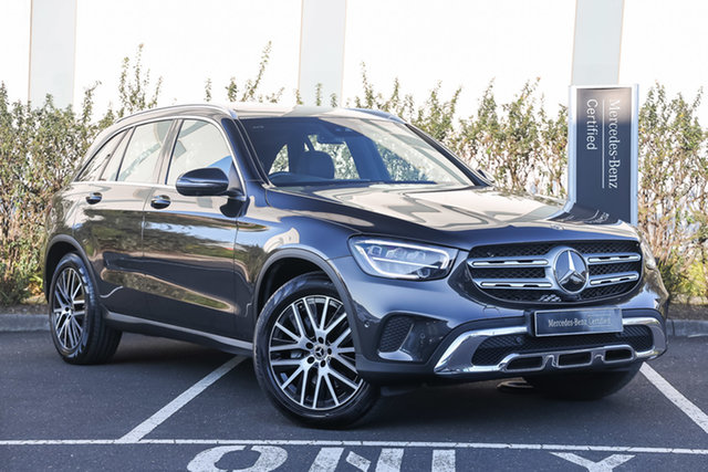 Certified Pre-Owned Mercedes-Benz GLC-Class X253 800+050MY GLC200 9G-Tronic Mulgrave, 2020 Mercedes-Benz GLC-Class X253 800+050MY GLC200 9G-Tronic Graphite Grey 9 Speed Sports Automatic