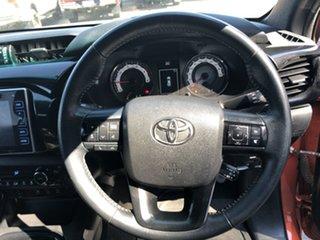 2018 Toyota Hilux GUN126R Rugged X (4x4) Inferno 6 Speed Manual Dual Cab Utility