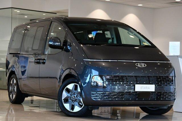 New Hyundai Staria US4.V1 MY22 Highlander 2WD Clarkson, 2021 Hyundai Staria US4.V1 MY22 Highlander 2WD Graphite Gray 8 Speed Automatic Van