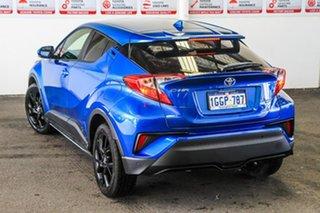2017 Toyota C-HR NGX10R (2WD) Tidal Blue 6 Speed Manual Wagon.