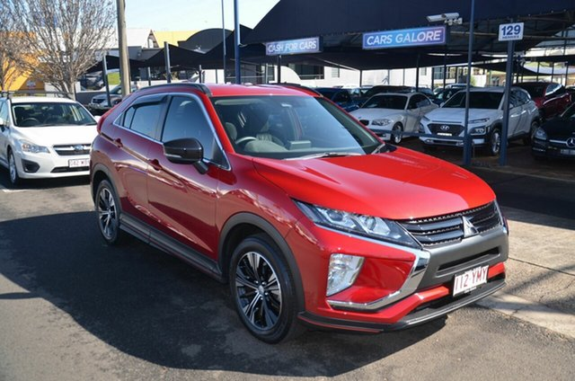 Used Mitsubishi Eclipse Cross YA MY18 ES Sport Edition Toowoomba, 2018 Mitsubishi Eclipse Cross YA MY18 ES Sport Edition Red Continuous Variable Wagon