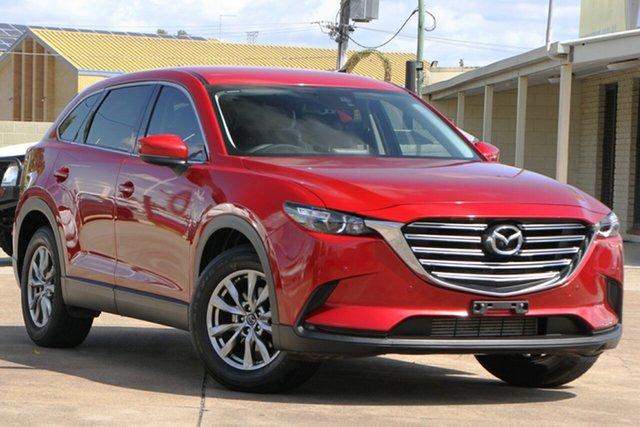 Used Mazda CX-9 TC Touring SKYACTIV-Drive Bundamba, 2017 Mazda CX-9 TC Touring SKYACTIV-Drive Red 6 Speed Sports Automatic Wagon