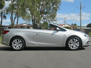 2015 Holden Cascada CJ MY15.5 Silver 6 Speed Sports Automatic Convertible.