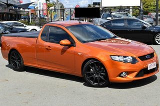 2011 Ford Falcon FG Upgrade XR6T Orange 6 Speed Manual Utility.