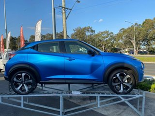 2021 Nissan Juke F16 ST-L DCT 2WD Vivid Blue 7 Speed Sports Automatic Dual Clutch Hatchback.