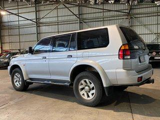 2002 Mitsubishi Challenger PA MY02 Silver 4 Speed Automatic Wagon