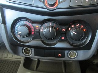 2016 Mazda BT-50 UR0YG1 XT 4x2 Hi-Rider White 6 Speed Manual Cab Chassis