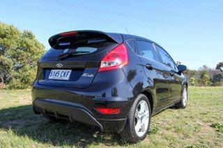 2012 Ford Fiesta WT Zetec Black 5 Speed Manual Hatchback
