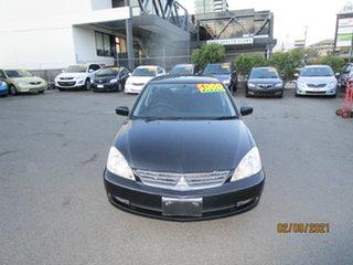 2007 Mitsubishi Lancer CH MY07 ES Black 5 Speed Manual Sedan.
