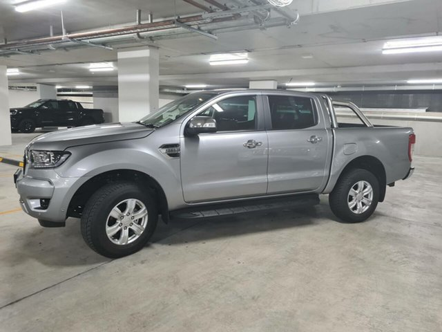Demo Ford Ranger PX MkIII 2021.25MY XLT Homebush, 2021 Ford Ranger PX MkIII 2021.25MY XLT Aluminium Silver 6 Speed Sports Automatic Double Cab Pick Up