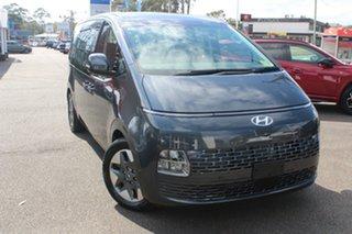 2021 Hyundai Staria US4.V1 MY22 Highlander AWD Steel Graphite 8 Speed Sports Automatic Wagon.