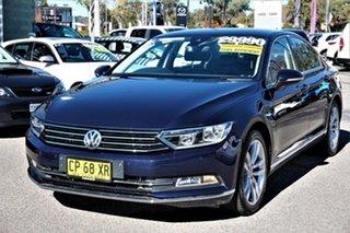 2016 Volkswagen Passat 3C (B8) MY17 140TDI DSG Highline Night Blue 6 Speed